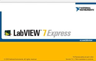 LabVIEW 7.0 About Box